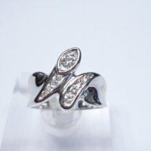【連漢精品】天然鑽石主石15 分G/VS1/完美車工造型女鑽戒(訂婚.送禮 .當尾戒)