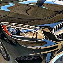 【JR 佳睿精品】15-UP Benz S63 S56 S400 C217 Coupe 改裝 鍍鉻大燈框 前燈飾框 飾條