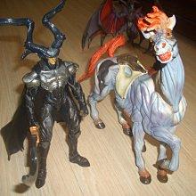 太空戰士/最終幻想 8 召喚獸模型~奧丁和戰馬組合 日本原裝附說明書 絕版收藏 中古商品
