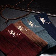 高品質 棉麻禪意復古刺繡功夫茶具茶布 吸水加厚茶臺幾毛巾抹布 遇見良品G67RTD