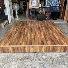 香榭二手家具*全新精品 工業風積層木雙人加大6x6.2尺床箱(三分板)-床架-床板-床底-床框-床組-床檯-雙人床-寢具