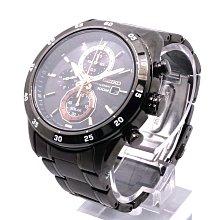 【台中青蘋果】精工 SEIKO Criteria 零極限三眼計時腕錶 SSC545P1 #22332