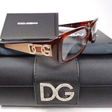 【信義計劃】全新真品 DG光學眼鏡 (D&G,DOLCE & GABBANA) 3055-B 義大利製 膠框款式
