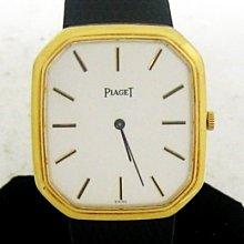 順利當舖  PIAGET/伯爵  18K金八角薄型機械紳士男錶
