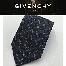 【皮老闆二店】二手真品 GIVENCHY 領帶 手打領帶 義大利製  領898