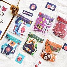 60枚島嶼花園手帳貼紙包小清新可愛小貼畫手賬拼貼素材手機殼裝飾-CHAOYOU小店