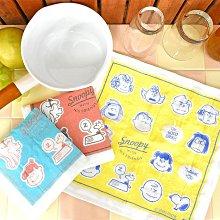 《散步生活雜貨-廚房散步》日本製 SNOOPY- 史努比 kaya 生地 敷巾 Face 廚房用抹布-三色選擇