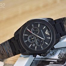 A&E精品代購EMPORIO ARMANI 阿曼尼手錶AR6092  經典義式風格簡約腕錶 手錶