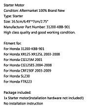 《極限超快感!!》Honda XR125 XR125L 03-08 CG125M 2001 CRF230F SL230 FTR223 啟動馬達