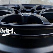 全新鋁圈 DG RS 14吋 4孔100 4孔114.3 6J 平光黑 (另有 15吋 16吋 17吋)