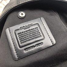 美國代購 coach 54787 真皮拼接 單肩背包 胸包 男生斜背包