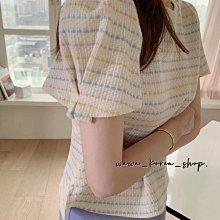 正韓:手袖褶皺設計上衣(2色)