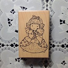 貝登堡印章~G章(GT-5166)天使娃娃抱小狗