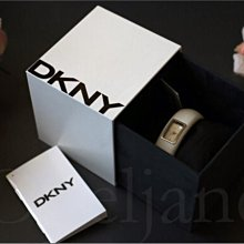 母親節送禮 DKNY Watch 時尚白色 真皮 腕錶 手錶 女錶 禮盒裝 免運費 愛Coach包包