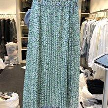 新品特價至6/20調回原價790裙子 高腰彈力小清新甜美小碎花褶裙 艾爾莎【TAE8842】