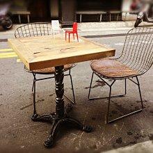 【 一張椅子 】Vintage  復古仿舊工業風  鑄鐵餐桌 書桌