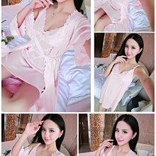 預購~大碼性感睡衣 XL-5XL 兩件式睡袍 大尺碼睡袍 加大碼睡衣 大尺寸睡裙 大碼性感睡衣/GU-2001