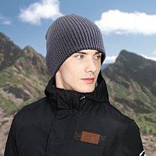 獨家專賣 嚴選針織毛帽 k123-2 粗條紋短款  灰色款 台灣製  帽子專賣店