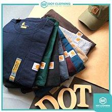 DOT 聚點 Carhartt Logo Pocket Tee K87 重磅 口袋T 黑白灰 酒紅 卡其 深藍 寬鬆版