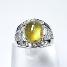 【連漢精品】金綠玉貓眼石 3.01克拉 五大珍貴寶石之一 天然無燒無處理 超透超美 送證書