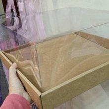 -聖誕花圈-----35透明花圈盒(禮物盒)