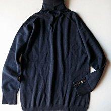 ((最後出清!!))) 全新 ~ ZARA Girls 深藍色高領毛衣 (11-12 152cm)