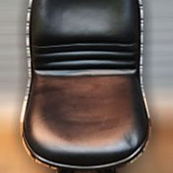 【樂居二手家具館】中古傢俱 家電 E0731FJJ 黑色皮辦公椅 辦公桌椅 會議桌椅 洽談桌椅 主管桌椅 休閒桌椅