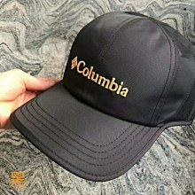 美國columbia戶外休閒帽棒球帽運動帽抗UV吸濕排汗透氣快乾抗撕裂面料(尺寸可調男女通用)