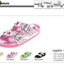 ☆BIRKENSTOCK☆名模Heidi Klum☆代言設計限量粉紅銀寶石勃肯涼鞋/拖鞋☆德國正品☆39號