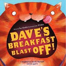 *小貝比的家*DAVES BREAKFAST BLAST OFF!/平裝