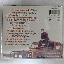 昀嫣音樂(CD74)  BRYAN ADAMS SO FAR SO GOOD 1993年 保存如圖 售出不退