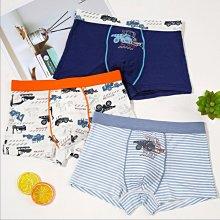 《琉璃的雜貨小舖》韓國 工程車 莫代爾棉 男童四角內褲