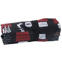 沛吉兔日貨館。日本直送 現貨 SNOOPY 史努比 摺疊購物袋 環保袋 可收納 PEANUTS 紅色狗屋