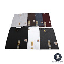 【高冠國際】Carhartt Pocket Tee 美版 口袋T 素面 重磅 6.75oz 短T K87