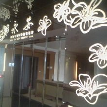 大台南 CT 創意設計廣告社-玻璃貼卡典希德透光白壓克力板