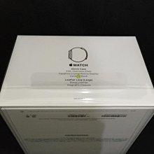 ^_^東京直遞 apple watch 42mm不鏽鋼版 皮革錶環黑色皮革磁扣錶帶20000元就賣