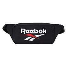=CodE= REEBOK CLASSIC VINTAGE WAISTBAG 拉鍊帆布腰包(黑)FS1621 單車 男女