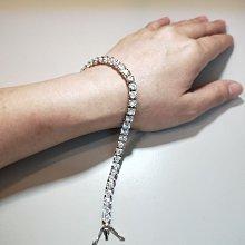 鑽石手鍊特價出清韓版時尚搭手錶心型鑽石十星十箭高碳鑽真鑽鉑金質感手鏈女款 個性甜美飾品 送女友愛人禮物FOREVER鑽寶