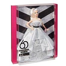 【全新現貨特價】芭比60週年 紀念版 娃娃Barbie 60th Anniversary Doll