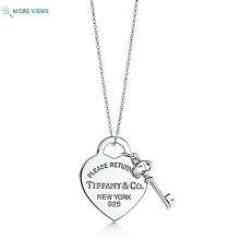 二手真品~* Tiffany& Co.   Return to Tiffany™ 心形鑰匙項鍊