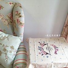【遇見美好雜貨】A50610 花園系列小粉花棉麻餐巾/棉麻餐墊