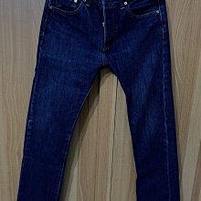 二手 Levi's 經典 501 排扣 直筒 牛仔褲 W30 L34