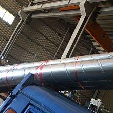 [多元化風扇風鼓]全新螺旋風管固定3米長  4吋  6吋 (可耐熱風管)