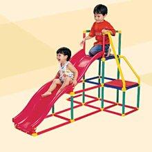*小踢的家玩具出租*C388  GIGO雙軌道溜滑梯有攀爬架~請先詢問