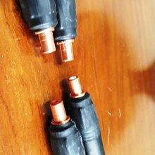 123.瑞士紐摧克原廠平衡頭轉CMC-805純紫銅RCA母座 二個一組特價1500元