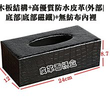 歐式面紙盒 優質木板結構底部開蓋設計附磁鐵吸合力強 做工精緻彰顯貴氣 兼具實用與美觀 物美價廉絕對超值