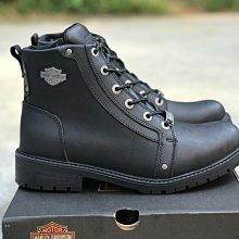 HARLEY-DAVIDSON哈雷機車靴騎行靴戶外休閒靴男鞋黑色39-44