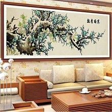 奇奇店-新款5D鑽石畫客廳十字繡梅花書房滿鑽磚石畫風景點貼鑽滿