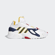 限時特價 南◇2021 6月 ADIDAS STREETBALL 經典鞋 FW8621 白黃藍紅 街頭籃球概念 運動鞋