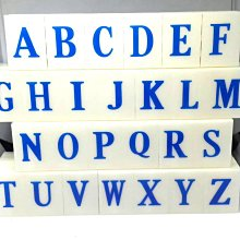 30mm Detachable English Letters A-Z Alphabet Stamp Set gift